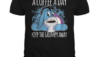 Eeyore A Coffee A Day Keep The Grumpy Away Shirt