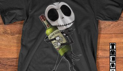 Jack Skellington hug Jameson shirt