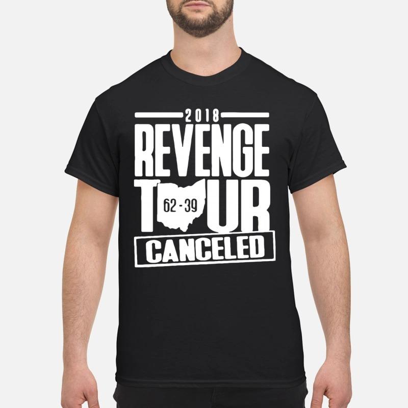 2018 revenge tour canceled 62 39 shirt