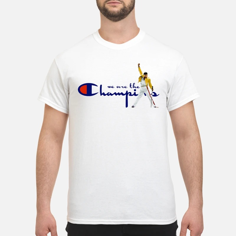 acad240b Boston Red Sox Freddie Mercury We Are The Champions Shirt ...