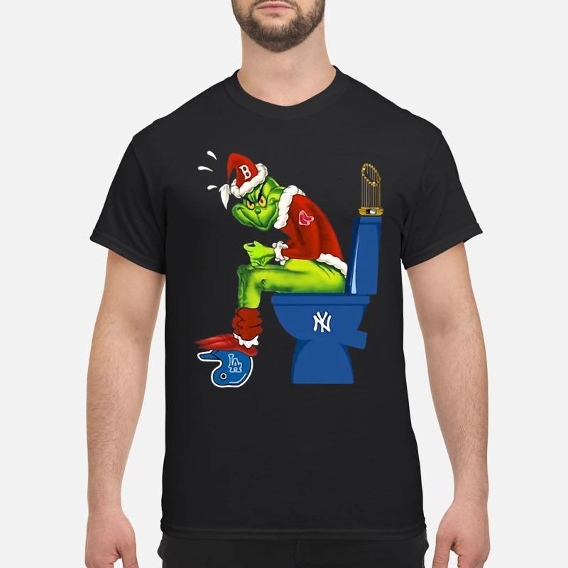 Boston Red Sox Grinch Shirt