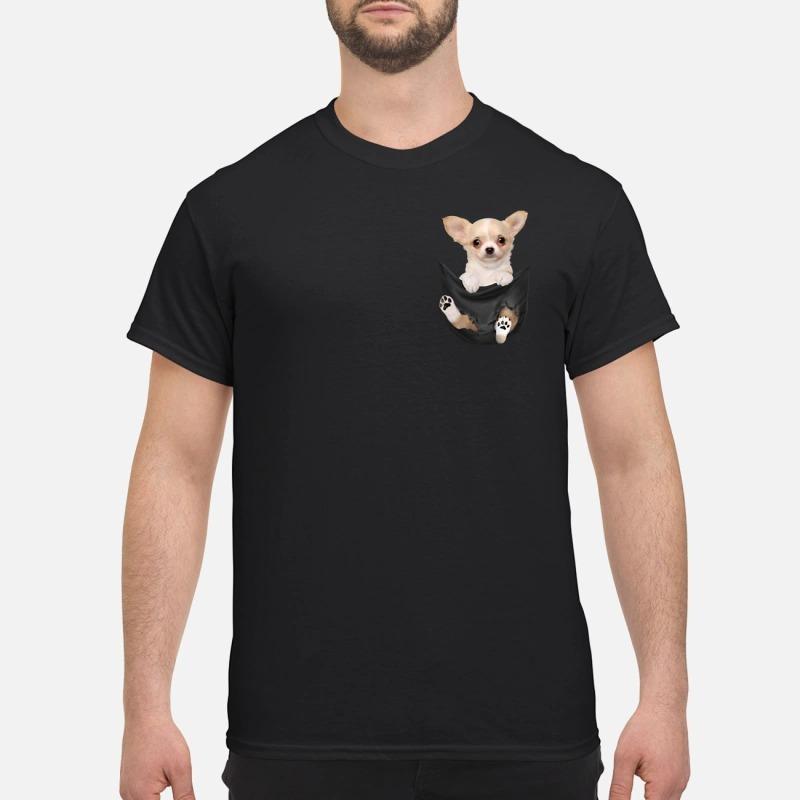 Chihuahua Baby In Pocket Shirt