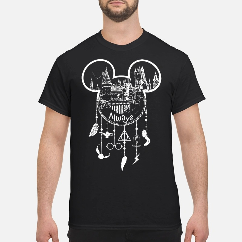 Disney Mickey Mouse Always Dream Catcher shirt