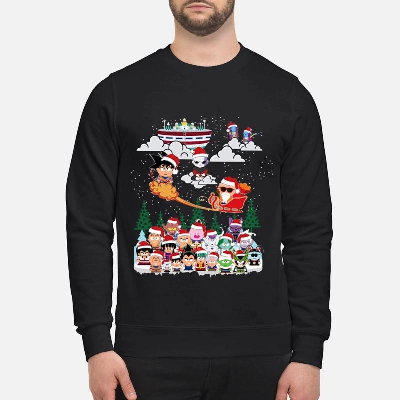 Dragon Ball Chibi Christmas Sweater