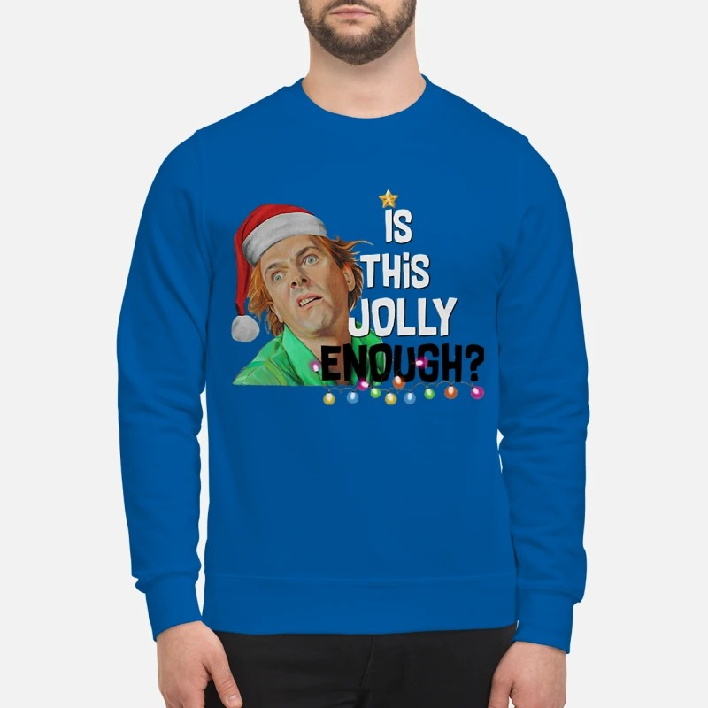 Drop Dead Fred is this Jolly enough Christmas sweater