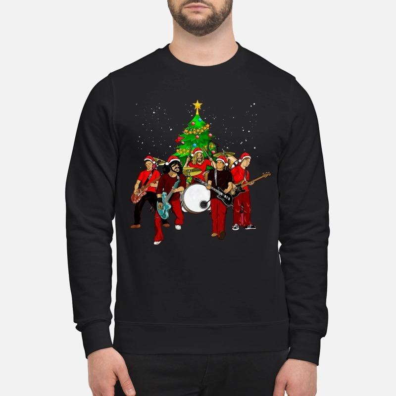 Foo Fighters Christmas tree sweater
