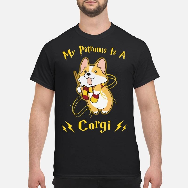 Harry Potter my Patronus is a Corgi shirt