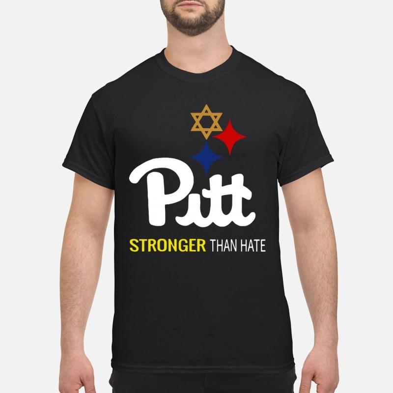 Pitt Stronger than hate shirt