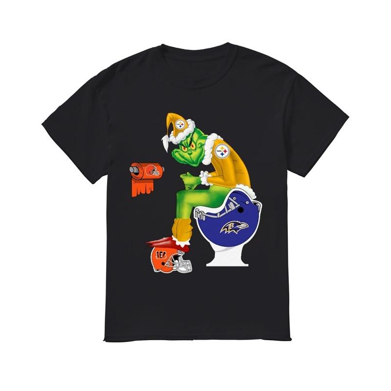 Pittsburgh Steelers Grinch Shirt