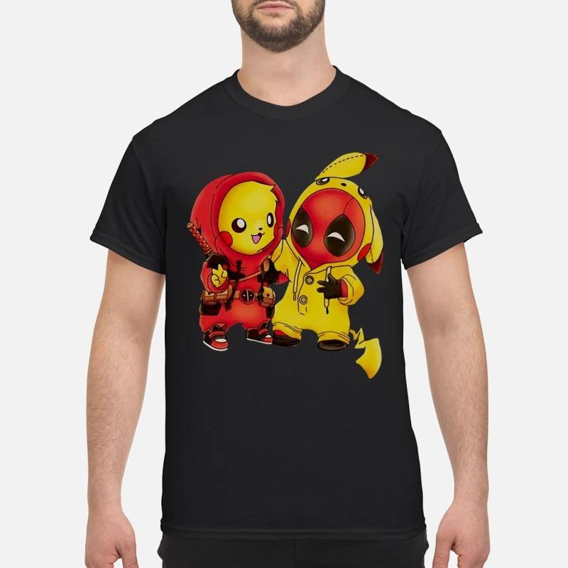 Ryan Reynolds Pikachu Deadpool shirt