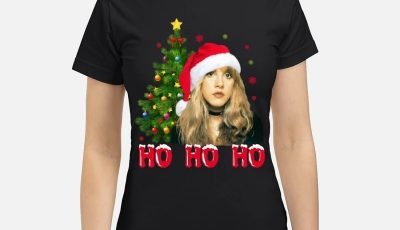 Stevie Nicks Saint Nicks ho ho ho Christmas shirt