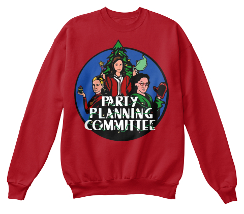 Party planning committee Christmas sweater, hoodie and t-shirt
