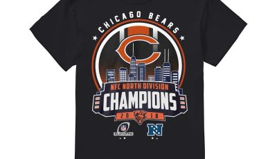 Chicago Bears Nfc North Division Champions 2018 Shirt