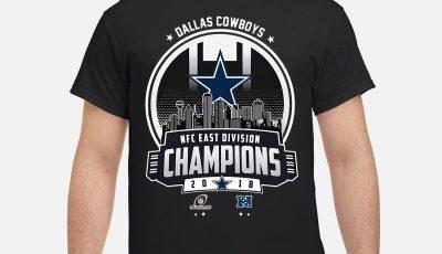 Dallas Cowboys NFC East Champions 2018 shirt