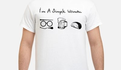 I'm A Simple Woman Harry Potter Beer And Taco Shirt