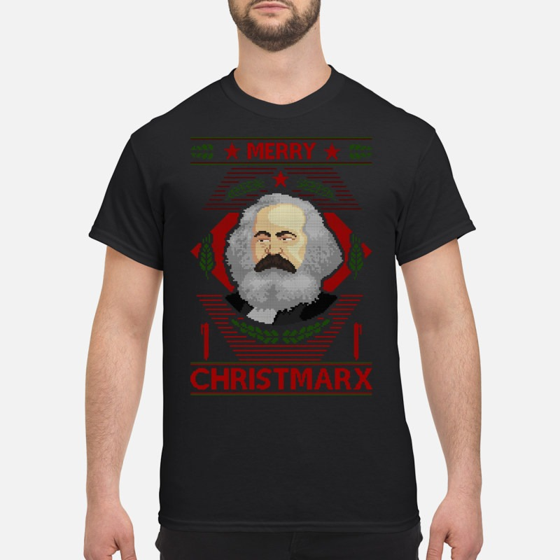 Karl Marx Merry Christmarx Sweater