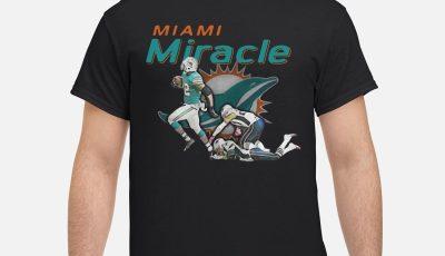 Kenyan Drake Beats The Patriots Miami Miracle Shirt
