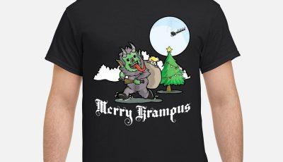 Merry Christmas Merry krampus shirt