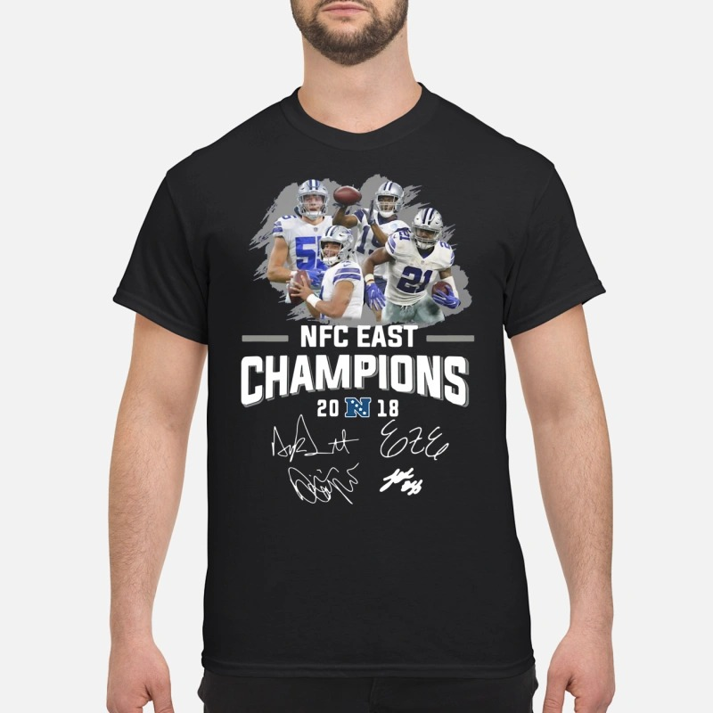 beac275696a NFC East Champions 2018 Dallas Cowboys shirt, Hoodie, Sweater
