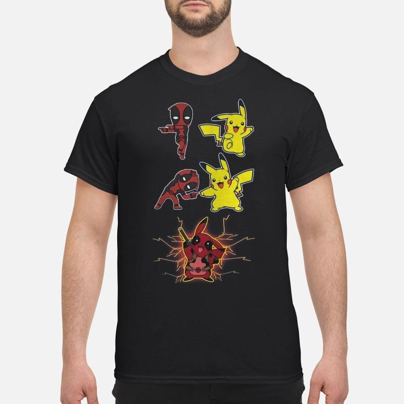 Pikapool Deadpool And Pikachu Fusion Shirt