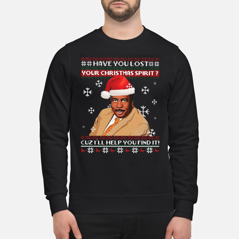 Steve Harvey have you lost your Christmas spirit cuz i'll help you find it Sweater