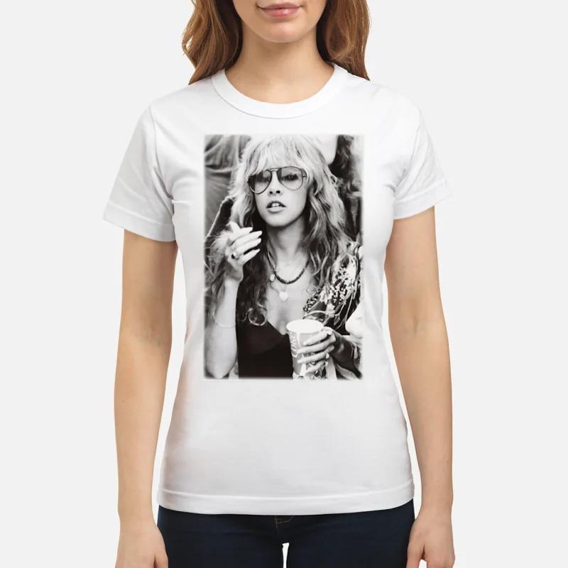 Stevie Nicks Smoking Young Vintage shirt