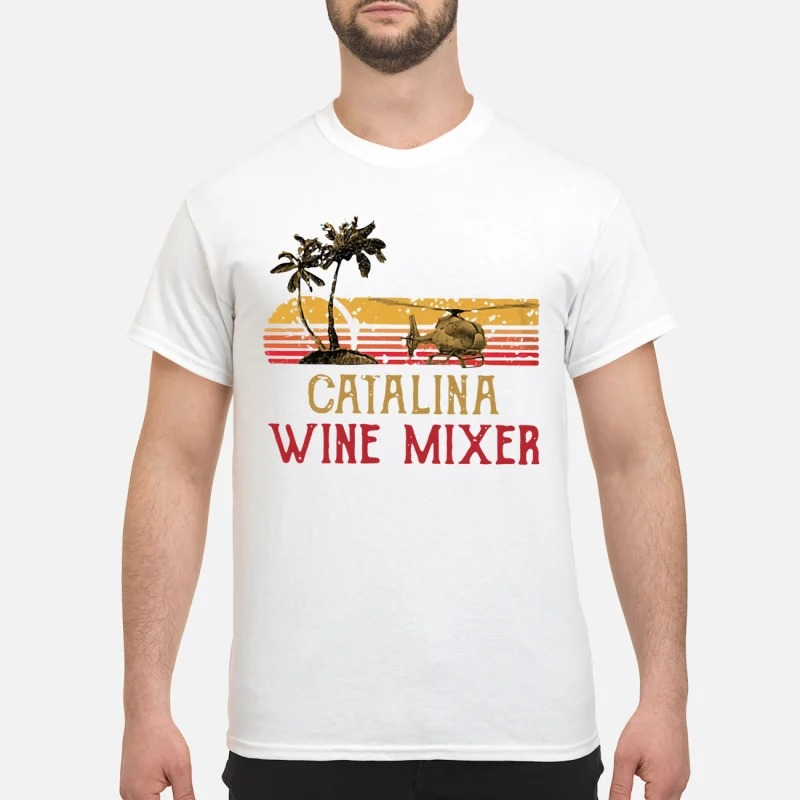 Vintage Catalina wine mixer shirt