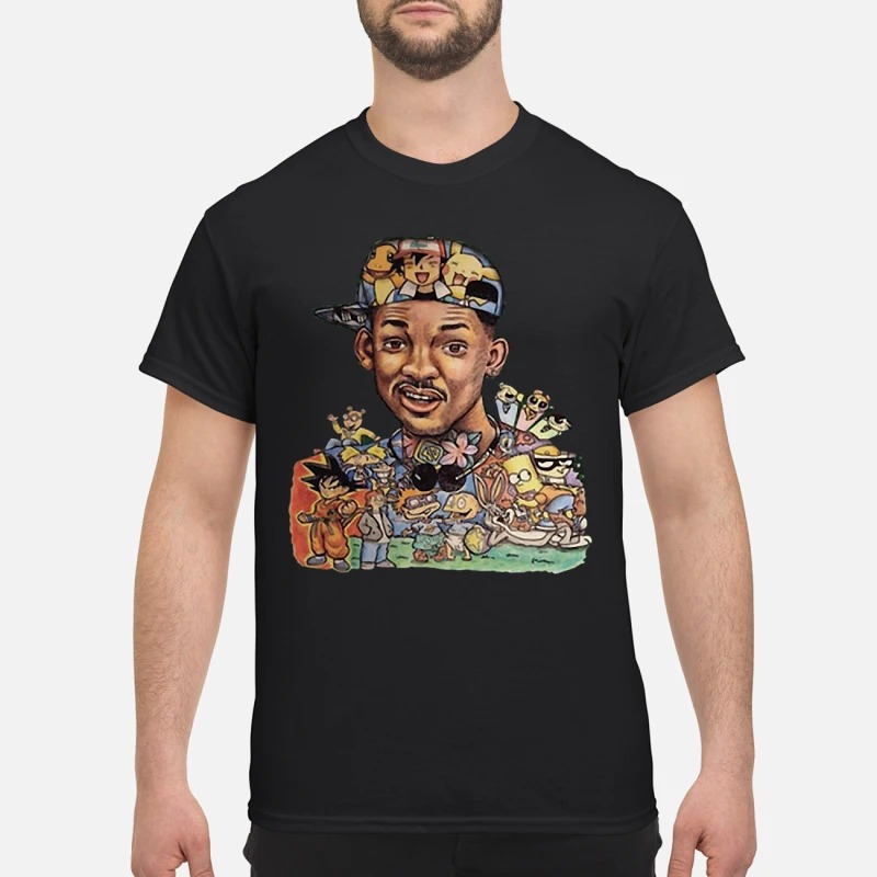 Will Smith Rocket Power The Simpsons Son Goku Shirt