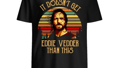 Sunset It doesn't get Eddie Vedder than this shirt
