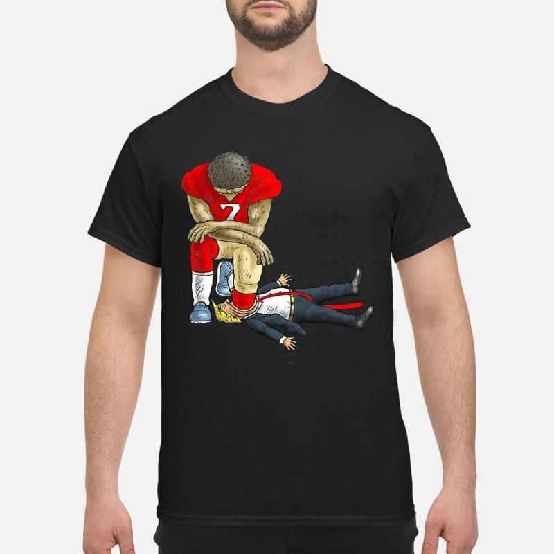 Colin Kaepernick kneels Donald Trump Shirt