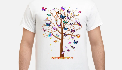 Family Butterfly tree for lost people shirt