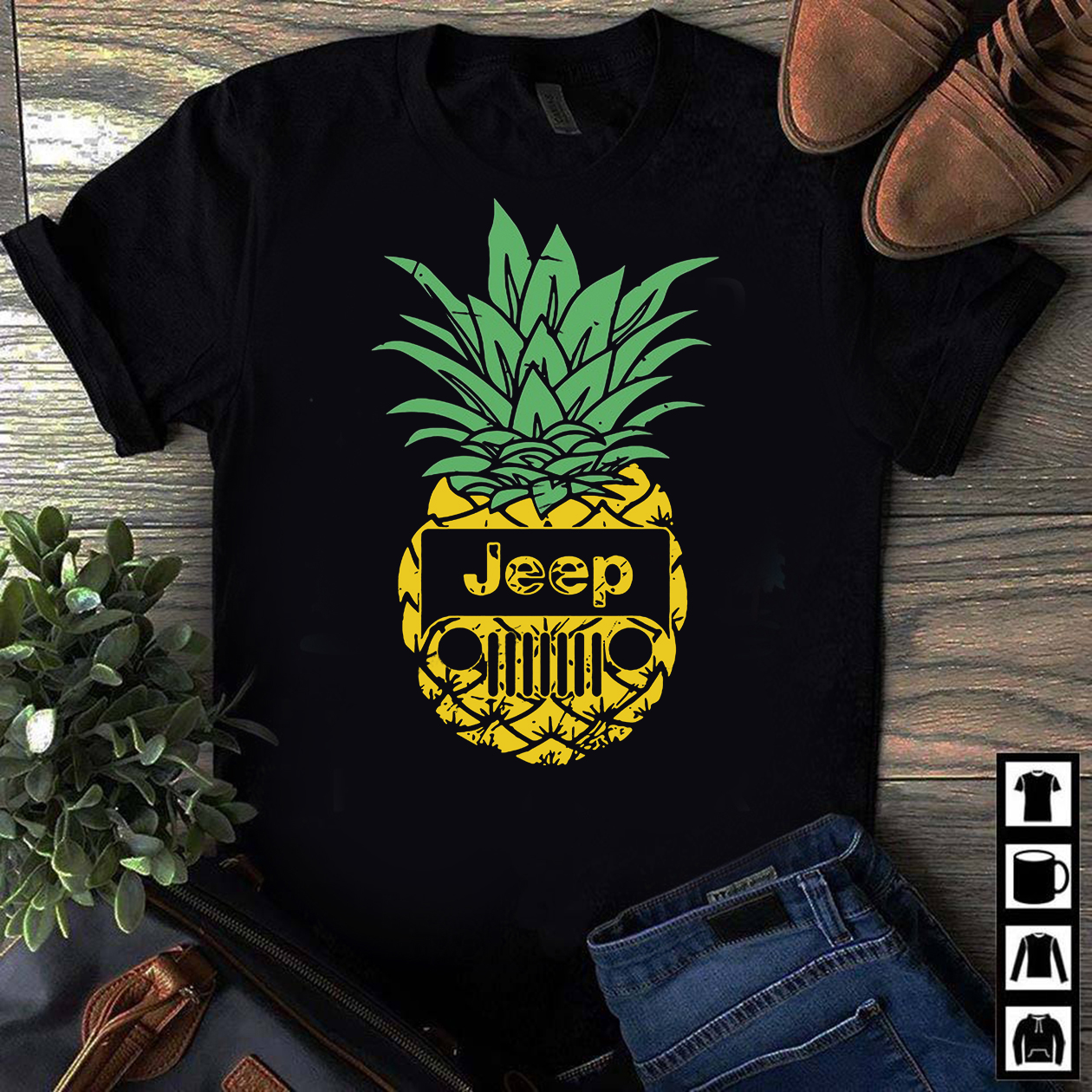 Official Pineapple Jeep shirt