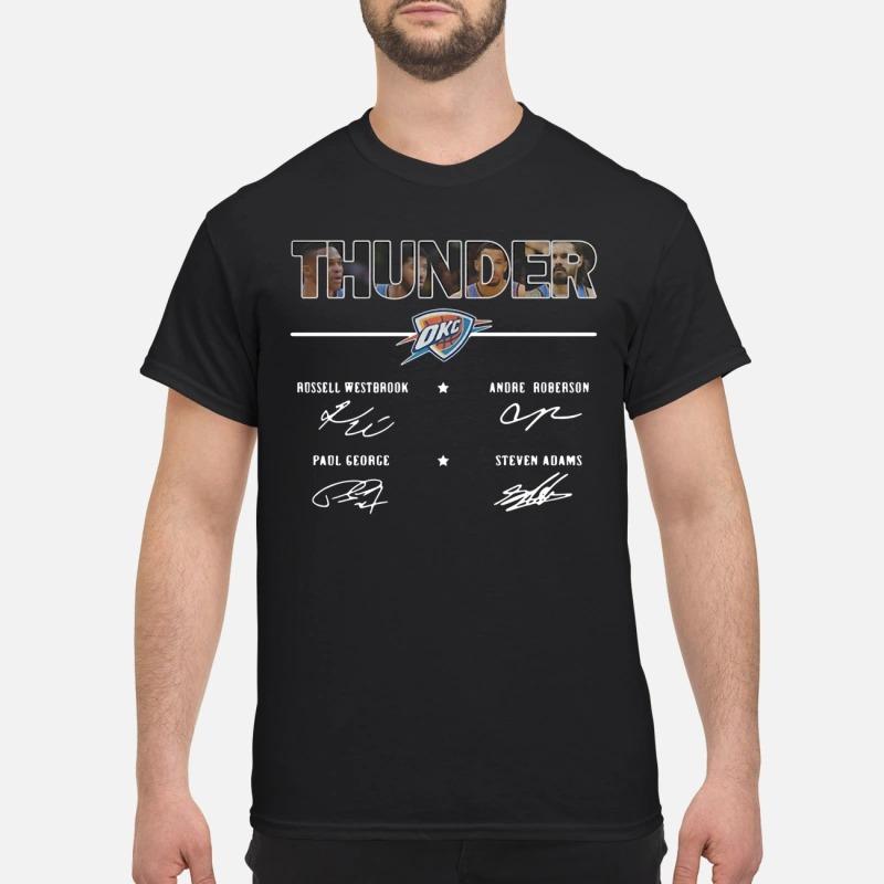 Oklahoma City Thunder Russell Westbrook Andre Roberson Paul shirt