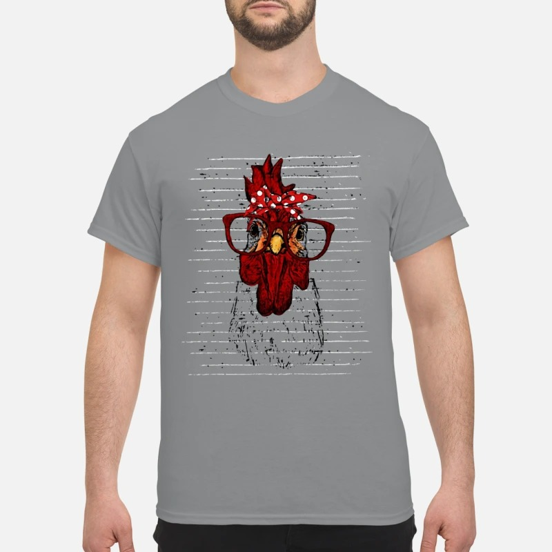 Rooster head shirt