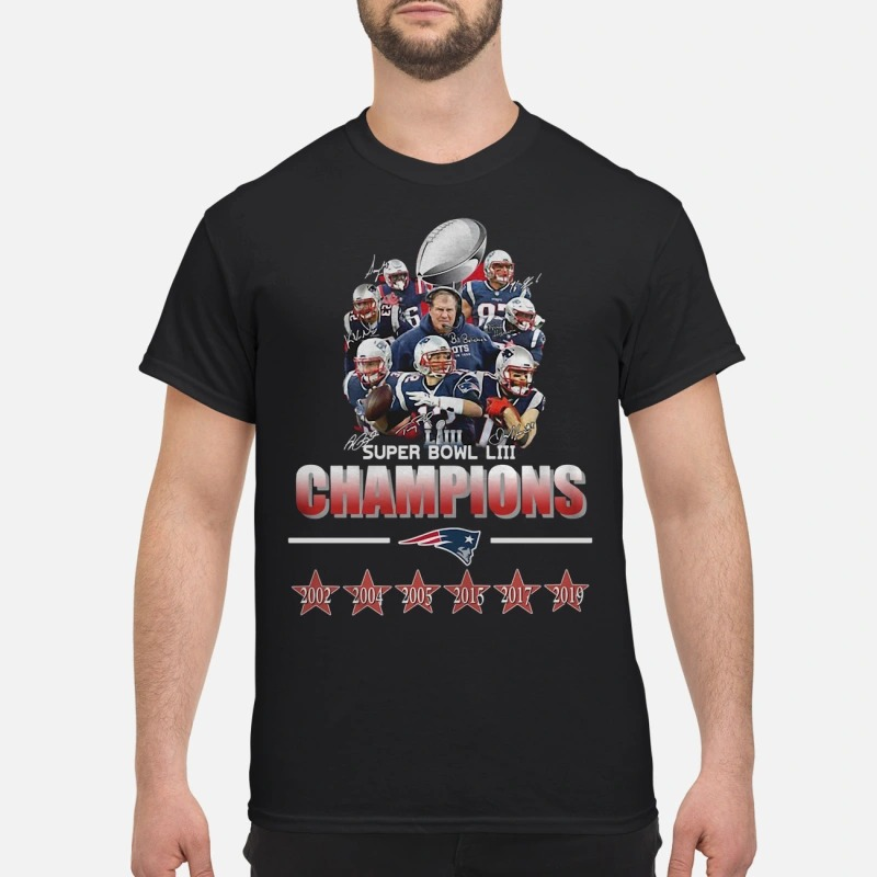 Super Bowl Champions New England Patriots 2019 Shirt And Shirt