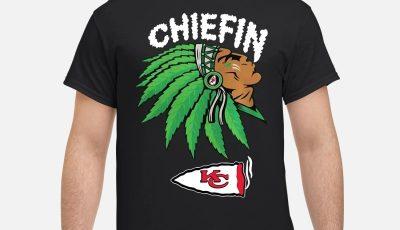 Chiefin Kansas City Chiefs St Patrick's day shirt