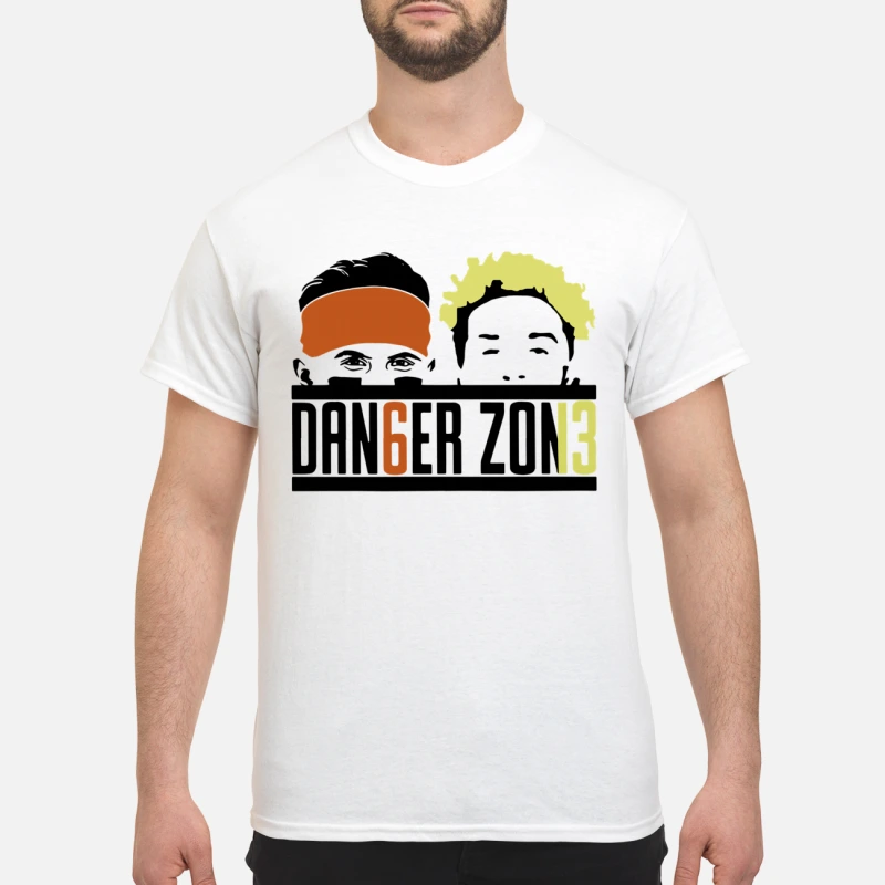 sale retailer 806c4 2c888 Danger zone 6 Baker Mayfield 13 Cleveland Browns shirt ...