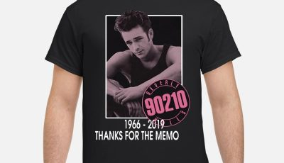 Luke Perry 90210 1966-2019 thanks for the memo shirt