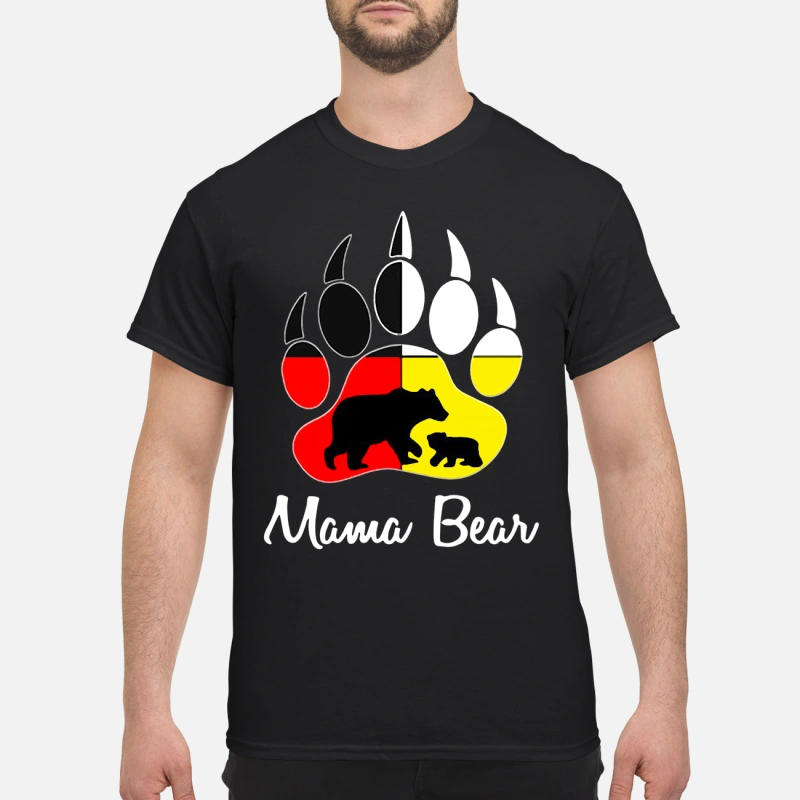Mama Bear Paw shirt