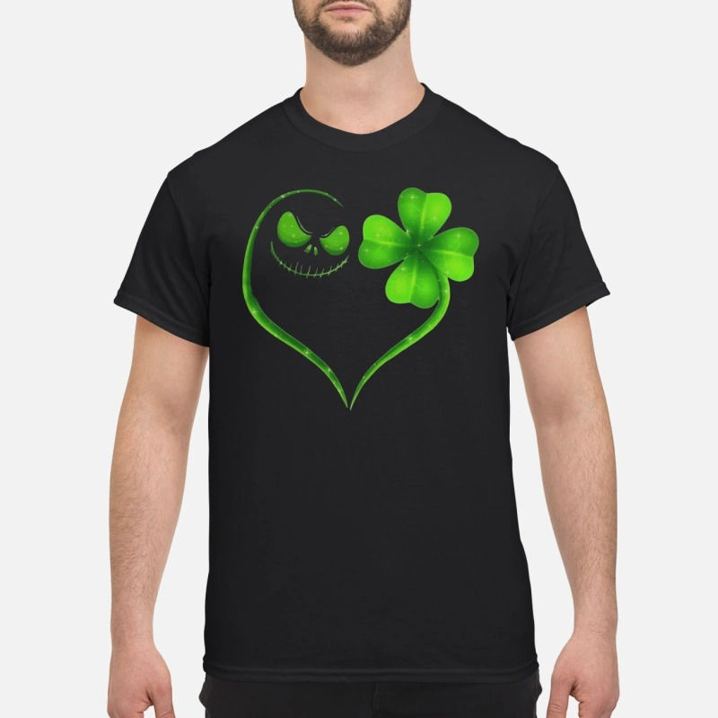 St Patrick's day Skeleton love Shamrock shirt