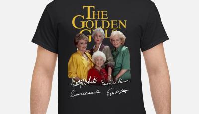 The golden girls all character signature shirt