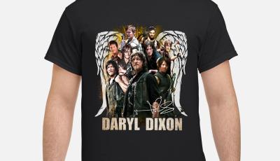The walking dead Daryl Dixon wings signature shirt
