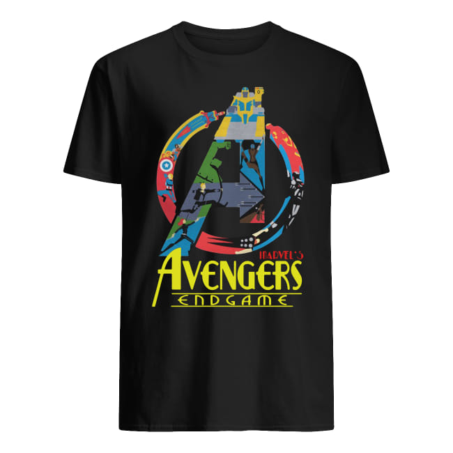 Avengers Endgame logo full colors shirt