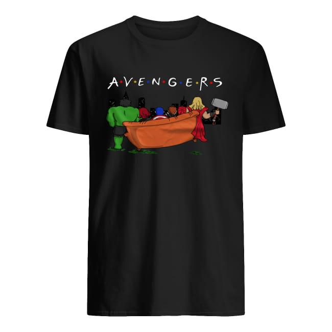 Avengers Infinity War parody Friends tv show Shirt