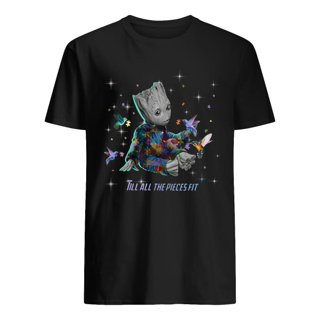 Baby Groot Autism Till All The Pieces Fit Shirt