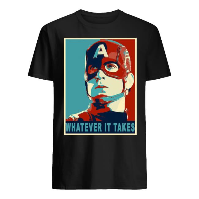 Captain America Avengers Endgame Whatever It Takes Shirt
