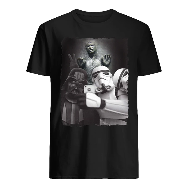 Darth Vader and Stormtroopers take a selfie shirt