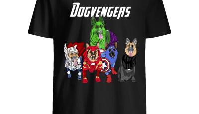 Dogvengers Frenchie Avengers German Shepherd Beauty shirt
