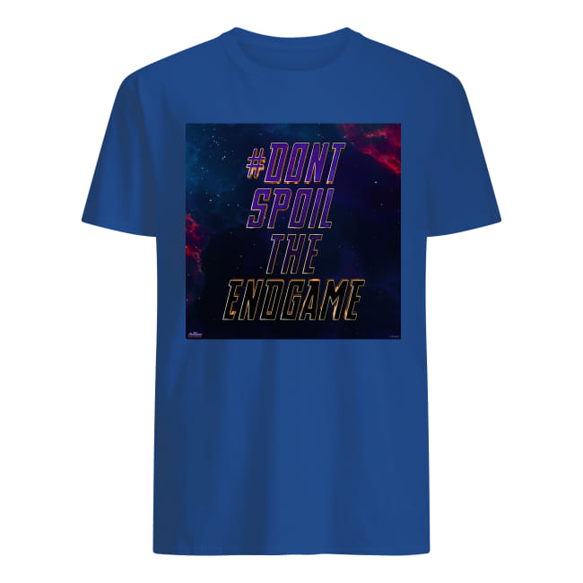 Don't spoil the Endgame shirt