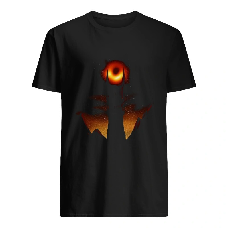 First photo of black hole sauron 2019 shirt